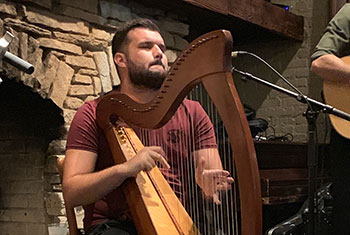Billow Wood at the Chicago Irish American Heritage Center - September 19, 2019