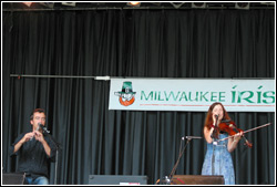 Cara at Milwaukee Irish Fest 2009 - August 16, 2009