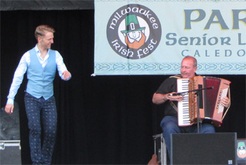 Liz Carroll and Friends at Milwaukee Irish Fest - August 15, 2015