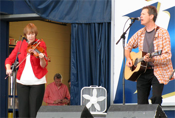 Liz Carroll and Friends at Milwaukee Irish Fest - August 18, 2012