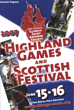 Highland Games flyer