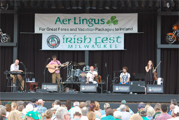Beoga at Milwaukee Irish Fest - August 16, 2014