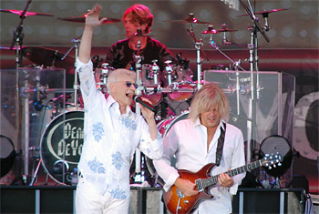 Dennis DeYoung in Elk Grove Village - July 31, 2012