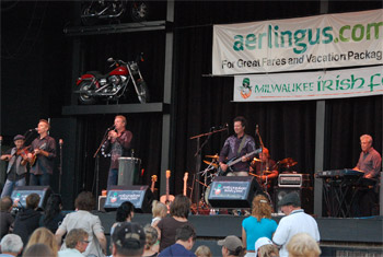 The Elders at Milwaukee Irish Fest - August 21, 2011.  Photo by James Fidler.
