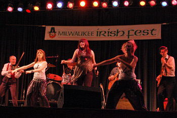 Kintra at Mikwaukee Irish Ferst 2010 - August 21,2010.  Photo by James Fidler.