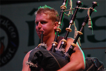Skerryvore at Milwaukee Irish Fest - August 18, 2012