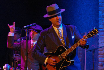 Big Bad Voodoo Daddy at City Winery Chicago - October 12, 2014