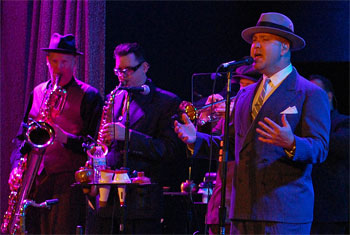 Big Bad Voodoo Daddy at Chicago City Winery 2014