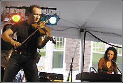 Leahy at Chicago Irish Fest - July 11, 2004
