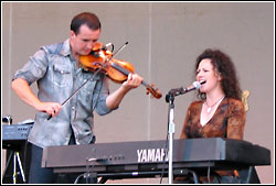 Leahy at Chicago Celtic Fest - Saturday, September 13, 2003