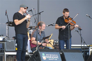 Lunasa at Milwaukee Irish Fest 2015