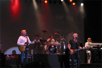 The Moody Blues at Milwaukee Summerfest - June 30, 2010