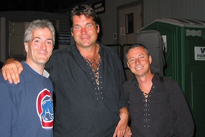 Pat with Jamie Holton and Randy Holbrook off Kilter