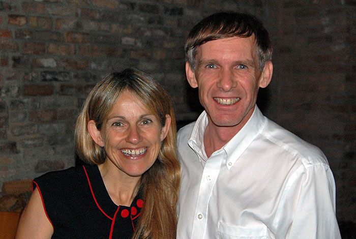 Jim and Sharon Shannon