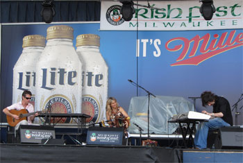Sharon Shannonat Milwaukee Irish Fest - August 16, 2014