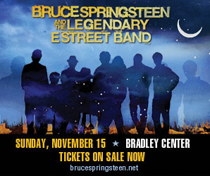 Bruce Springsteen and the E Street Band Tour Poster for Milwaukee