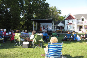 April Verch Band in Long Grove, IL - August 2, 2015